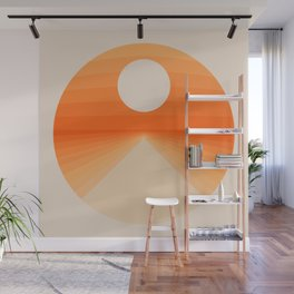 The Distance Wall Mural