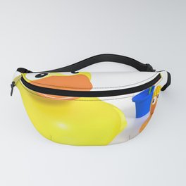 Mother child duck Fanny Pack