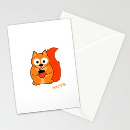 Perceptive Squirrel Stationery Cards