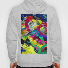 Kandinsky Picture with White Lines Hoody