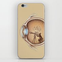 medical iPhone & iPod Skins featuring Extraordinary Observer by Enkel Dika