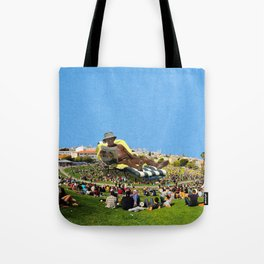 Old Man In The Park Tote Bag