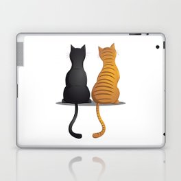 cat buddies Laptop & iPad Skin
