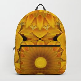 Daisy Mandala Backpack