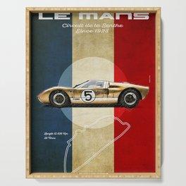 Le Mans Vintage GT40 Serving Tray