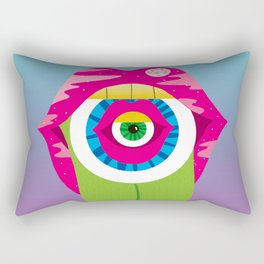 whistleburg - watch your mouth Rectangular Pillow