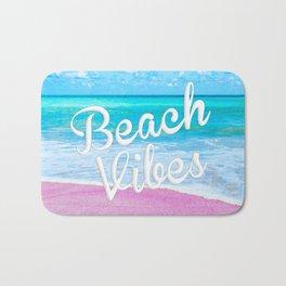 Pink Sand Beach Vibes Bath Mat