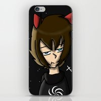 homestuck iPhone & iPod Skins featuring Seer Of Space by Darkerin Drachen