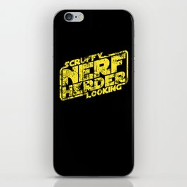 Scruffy Looking Nerf Herder iPhone Skin