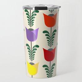 Tulip pattern Travel Mug
