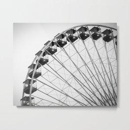 Save Ferris Wheel Metal Print