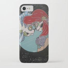 Ariel & Flounder Sugar Skull iPhone Case