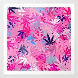 Marijuana Cannabis Weed Pot Art Print