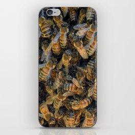 Beautiful Bees iPhone Skin