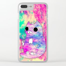 cats museum 513 Clear iPhone Case