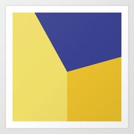 Color block #5 Art Print