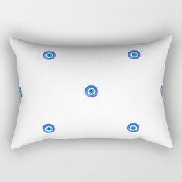 Evil Eye III Rectangular Pillow