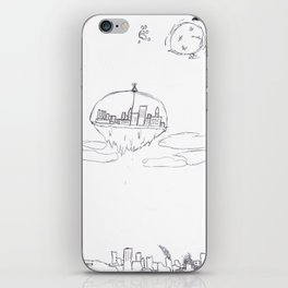 Above the Ash iPhone Skin