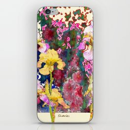 Decorative Yellow & Pink Spring iPhone Skin