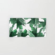 Tropical Palm Print Hand & Bath Towel