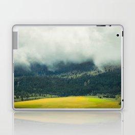 Foggy Morning Meadow Laptop & iPad Skin