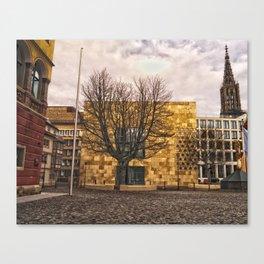 Architecture in Ulm Canvas Print