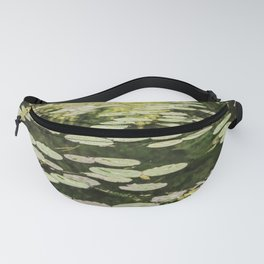Lilies Green Fanny Pack