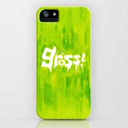 Gross! iPhone Case