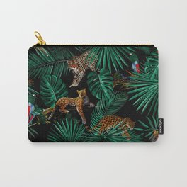 FLORAL PATTERN XI Carry-All Pouch