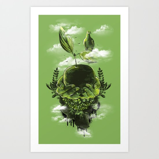 Peace on Earth Art Print