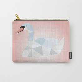 SWAN LOW POLY ART Carry-All Pouch