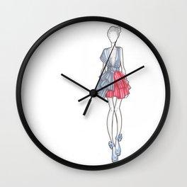 Figurino 1 Wall Clock