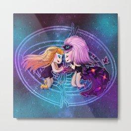 Hedwig & Yitzhak Metal Print