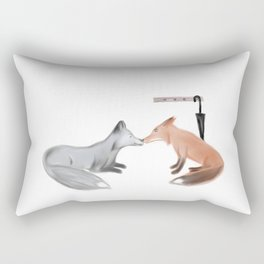 Fox!Mystrade Rectangular Pillow