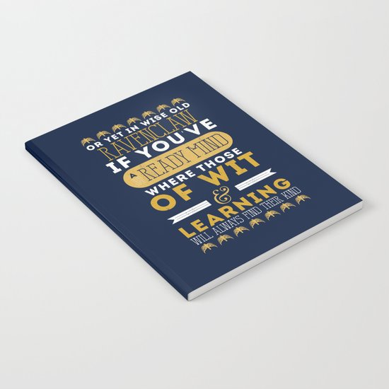 Ravenclaw Notebook