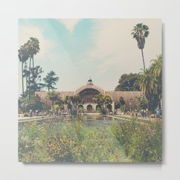 the botanical building in Balboa Park, San Diego Metal Print