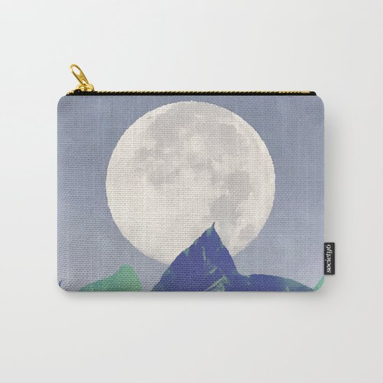 Vintage Moon Dance #society6 Carry-All Pouch