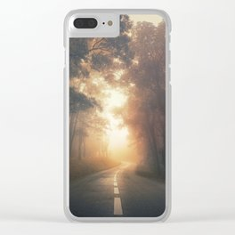 Into the Warmth Clear iPhone Case