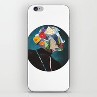 wonderland iPhone & iPod Skins featuring Wonderland by Lydia Coventry