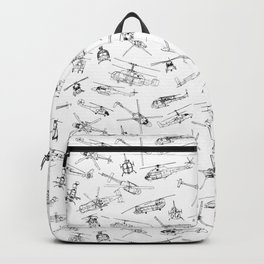 Helicopters Backpack