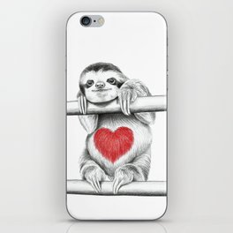 If Care Bears were sloths... iPhone Skin