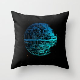 Death Star Blueprint. Throw Pillow