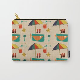fish at the beach Carry-All Pouch