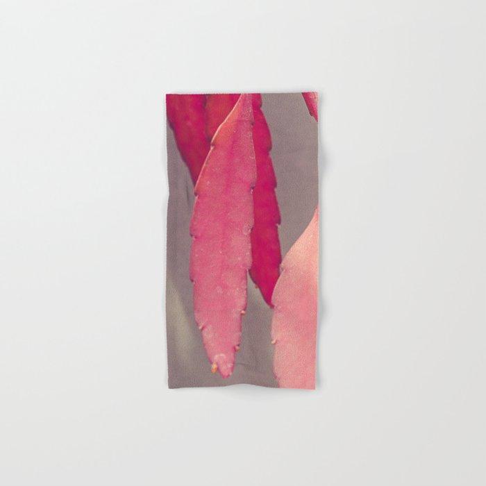 Red Cactus Hand & Bath Towel