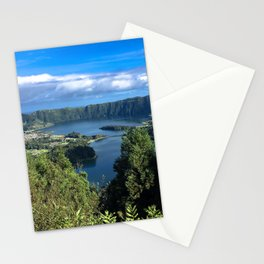 Paradise in Azores Stationery Cards