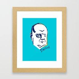 Jean Sibelius (3) Framed Art Print