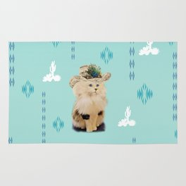 southwest kitty Rug