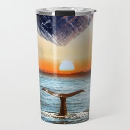 A whale and a morning Travel Mug