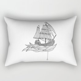 The ship Rectangular Pillow
