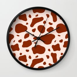 How Now Brown Cow Wall Clock